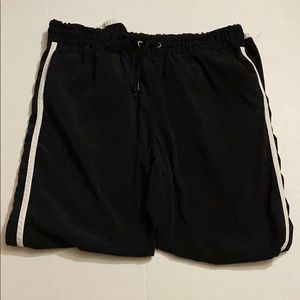 Express Black Track Pants